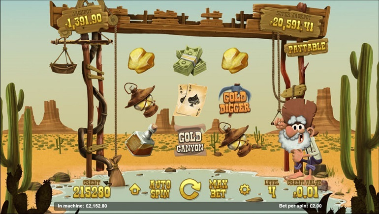 Magnet Gaming Releases New Slot: Gold Rush - Valley of Riches