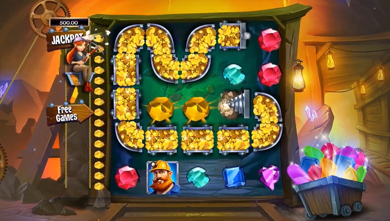 High 5 Games Hits Pay Dirt with Goldstruck Slot
