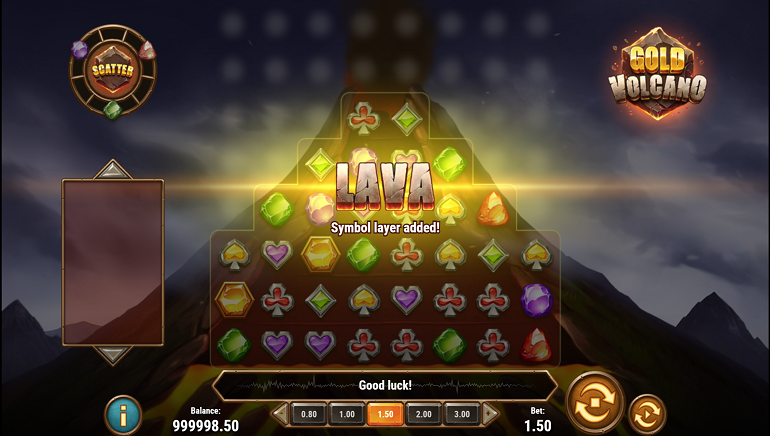 New Slot Release: Gold Volcano by Play'n GO