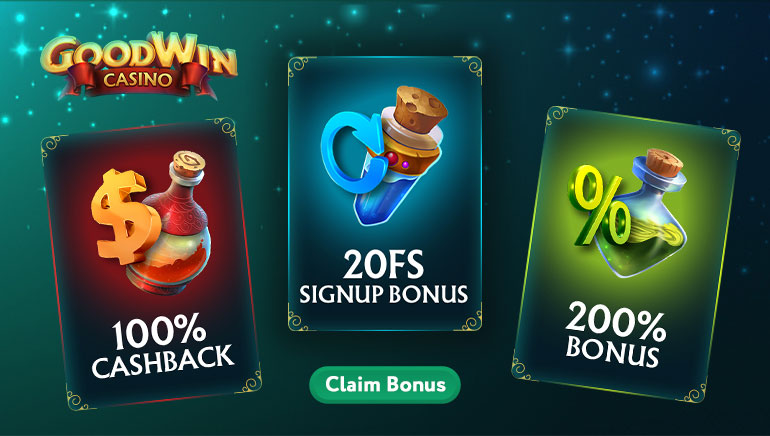 200% Welcome Bonus and More to Claim at GoodWin Casino