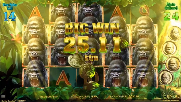 NetEnt Takes Players on Jungle Adventure With New Gorilla Kingdom Slot