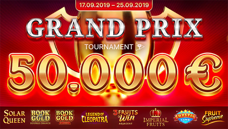 Take Part in the €50,000 Playson Grand Prix Running this September