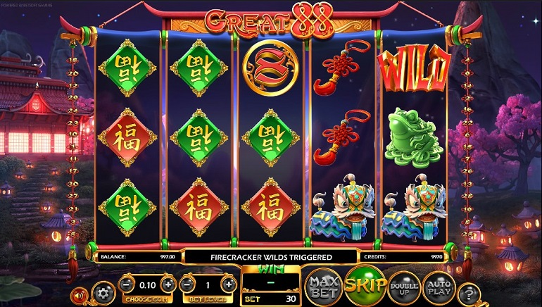 BetSoft's Great 88 Brings Asian Beauty to Slots