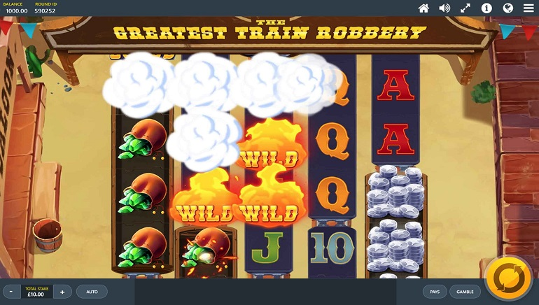Slot Review: The Greatest Train Robbery from Red Tiger Gaming