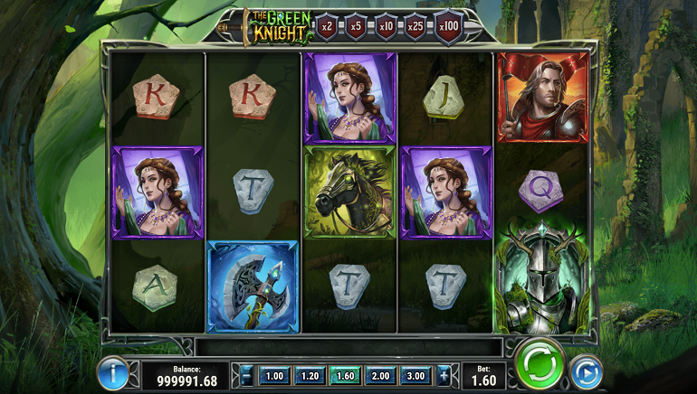 The Green Knight Slot From Play'n GO Pays up to 10,000x the Bet