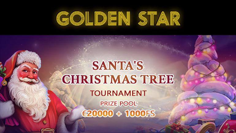Christmas Tournament Prizes at Golden Star Casino