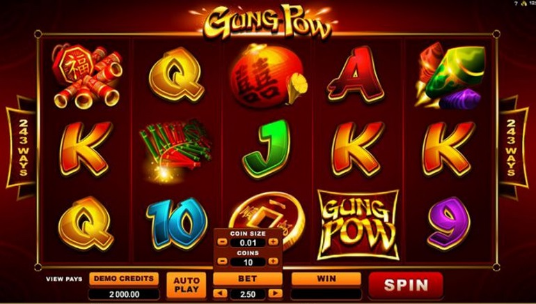 New: Gung Pow Slot Celebrates Chinese New Year