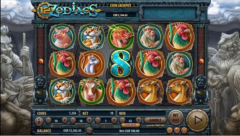12 Zodiacs Slot Brings Mystery to Habanero Casinos