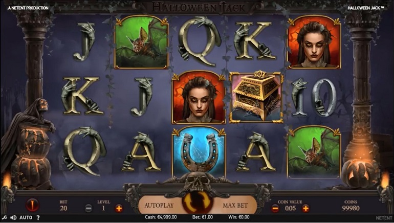 Brand New Halloween Jack Slot Released By Net Entertainment