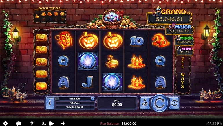 Slot Review: Halloween Treasures by Realtime Gaming