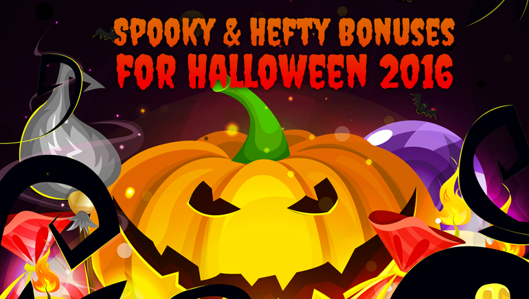 Spooky & Hefty 2016 Halloween Bonuses Lined Up for October