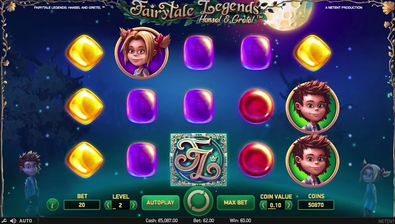 NetEnt Continues Fairytale Legends Series with Hansel and Gretel Slot
