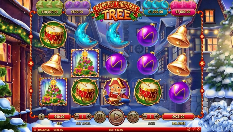 Slot Review: Happiest Christmas Tree from Habanero