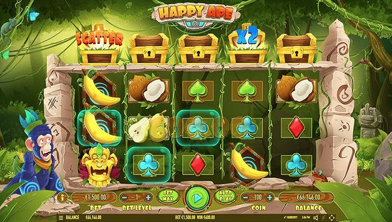 Happy Ape Slot From Habanero Swings Into Online Casinos
