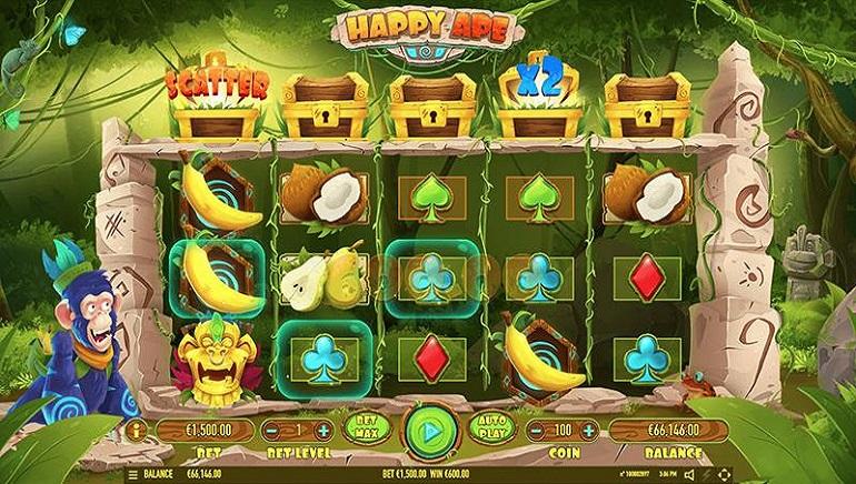 Happy Ape Slot From Habanero Swings Into Online Casinos