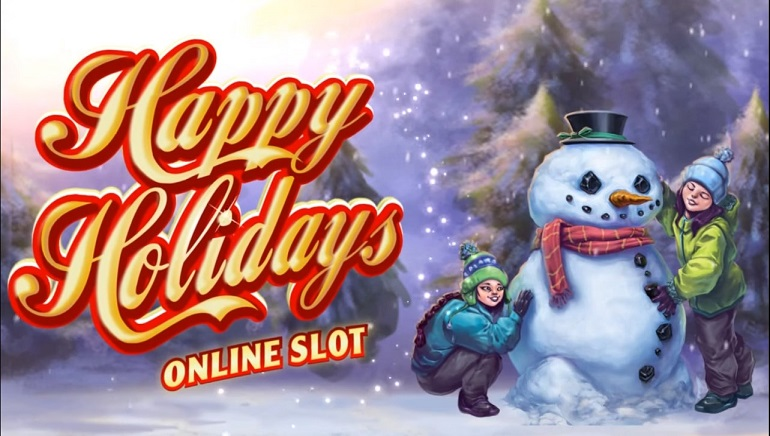 December Release Coming for Microgaming's Happy Holidays Slot