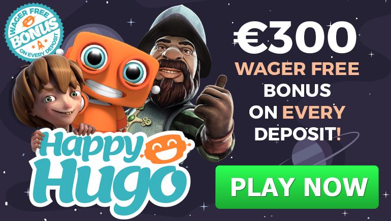 Generous Happy Hugo Casino Bonus Offer