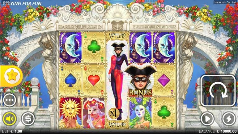 Nolimit City Unmasks Their New Harlequin Carnival Online Slot