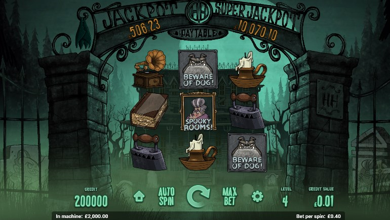 Magnet Gaming Releases Haunted House Slot