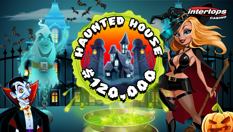 Enter The Haunted House Promo At Intertops Casino For A Share of $120,000