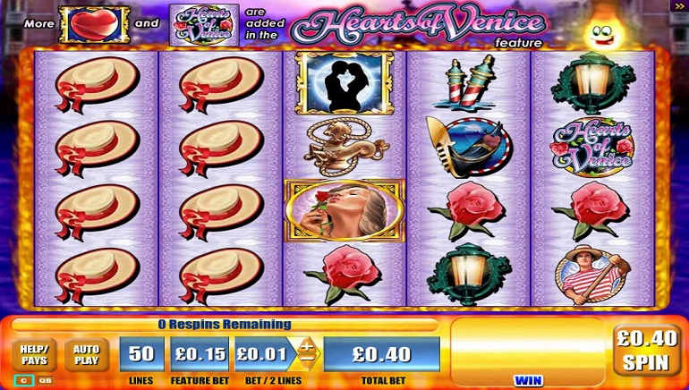 Slot Review: Hearts of Venice by WMS