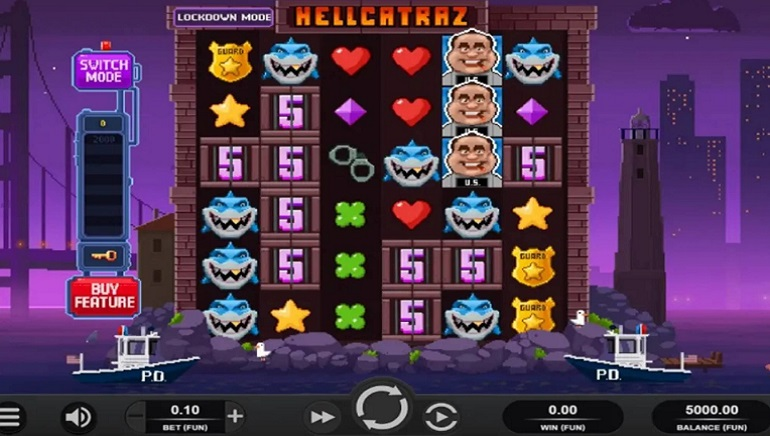 Plan Your Prison Escape With Relax Gaming's New Hellcatraz Slot
