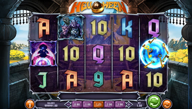 Spooky Spins On The Rock-Themed Helloween Slot From Play'n GO