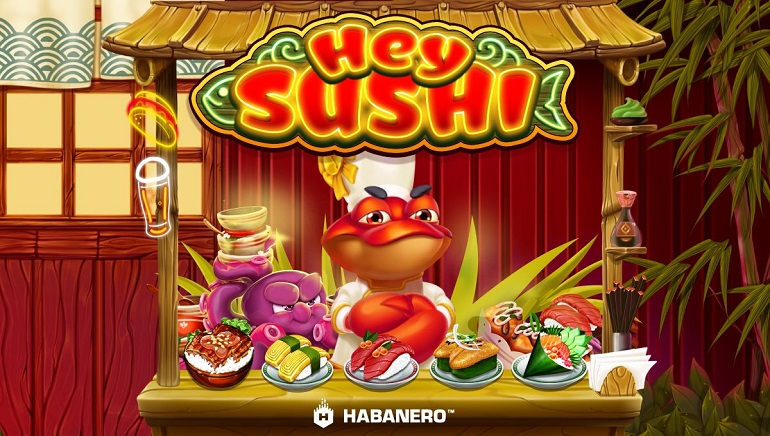 Hey Sushi Slot Served Up by Habanero