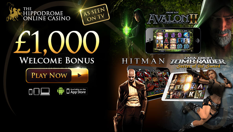 Famous Hippodrome Casino Launches Online Website