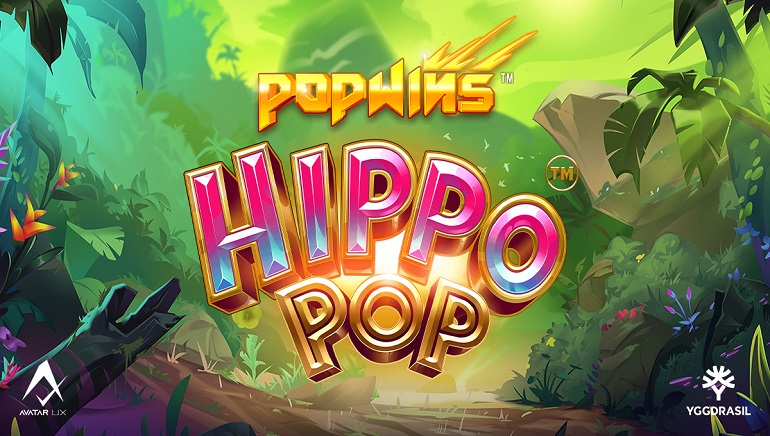 Yggdrasil and AvatarUX Expand the PopWins Series With HippoPop Slot