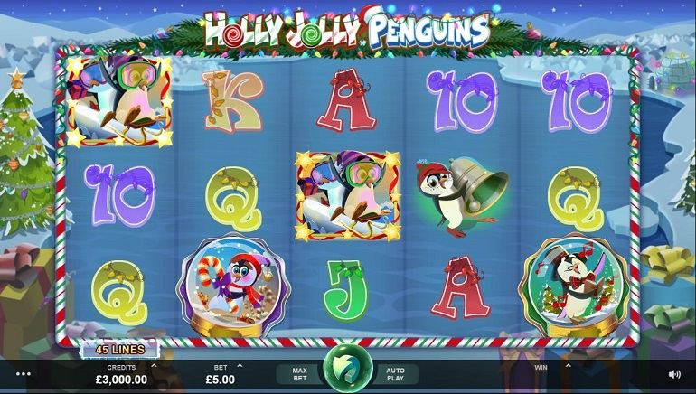 Microgaming Kicks Off the Festive Season with Wacky Panda and Holly Jolly Penguins
