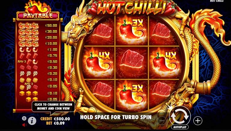 Pragmatic Play's Hot Chilli Hits Online Casinos