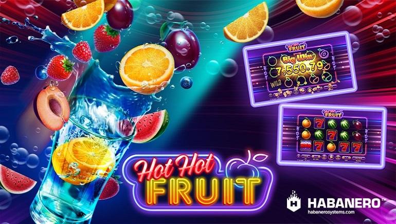 Habanero Casinos Release Hot Hot Fruit Slot