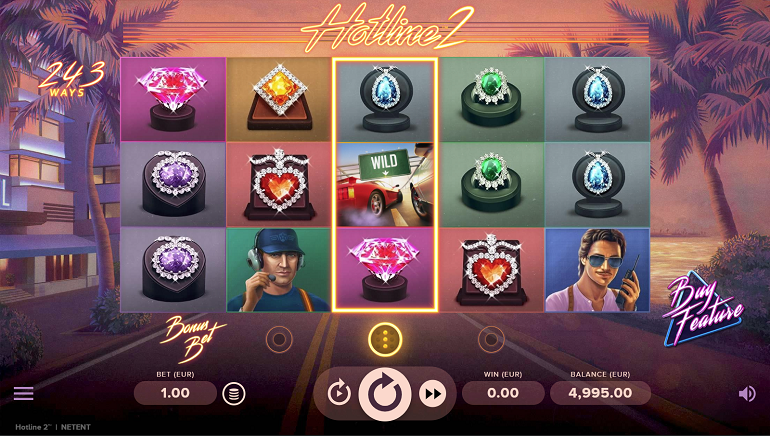NetEnt Turns Up the Heat With Hotline 2 Slot