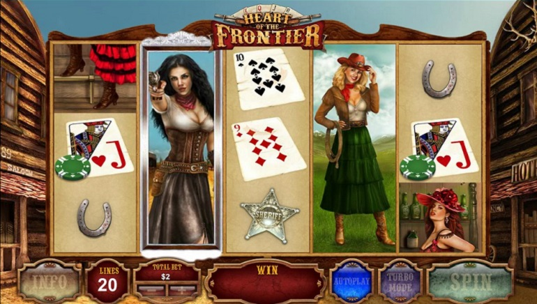 Impressions From Playtech's New Slot, Heart of the Frontier