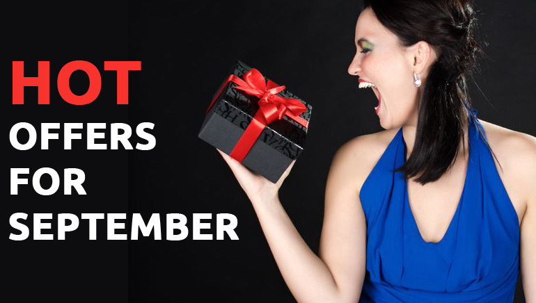 The Hottest Offers for September