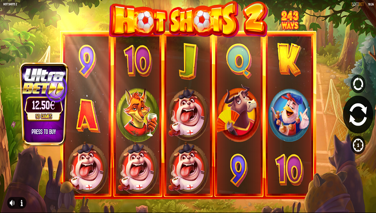 iSoftBet Hits The Back Of The Net With Soccer-Themed Hot Shots 2 Slot