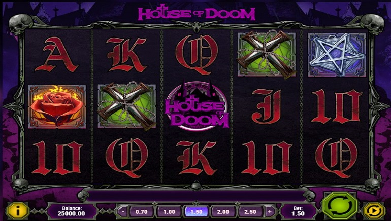 Play'n GO Releases Gothic-themed House of Doom Slot