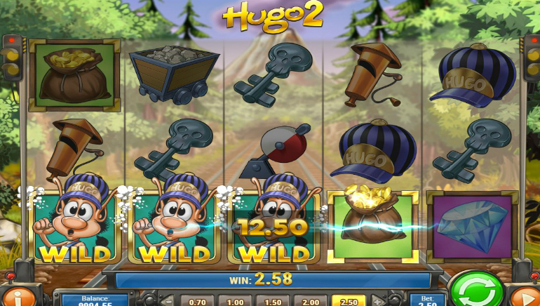 New Play'n GO Slot, Hugo 2, Goes Live Today