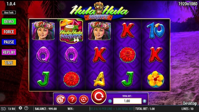 Take A Tropical Break With The Hula Hula Nights Slot