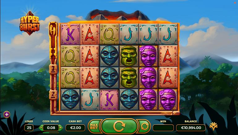 Hyperburst Slot Erupts from Yggdrasil Gaming