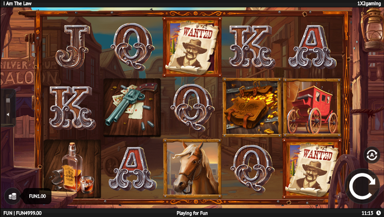 Slot Review: I Am The Law by 1x2 Gaming