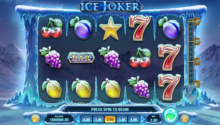 Bundle Up Before Spinning the Reels of Ice Joker, Play'n GO's New Slot