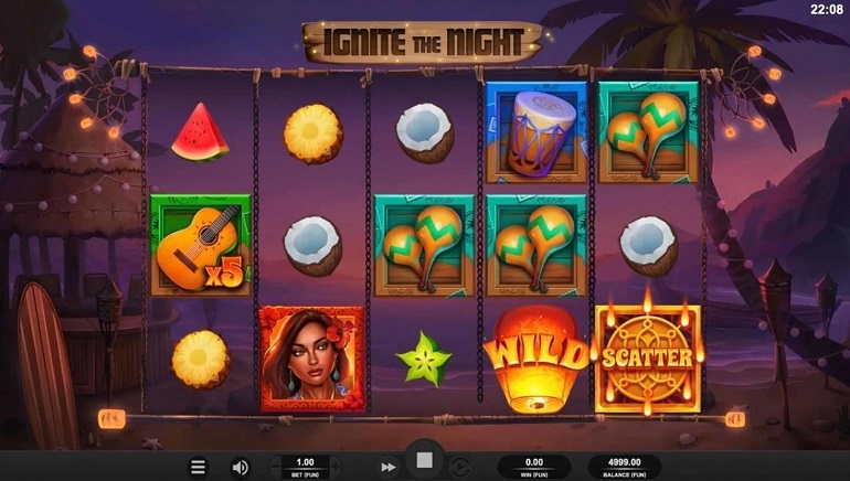 Join The Party With Relax Gaming's Ignite The Night Slot
