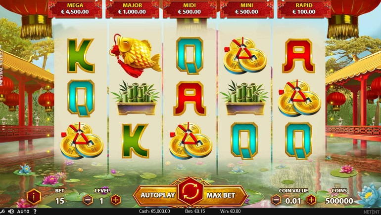 NetEnt's New Imperial Riches Slot Pays Big Win on Release Day