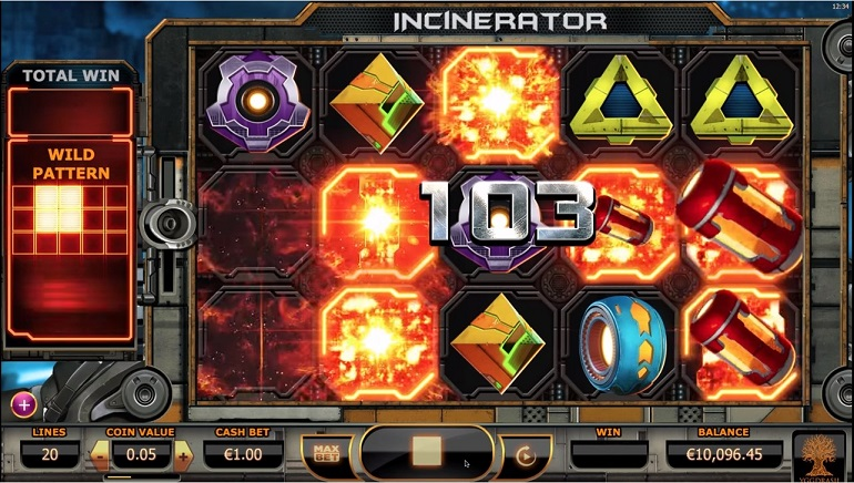 Clean Up Space Trash with Yggdrasil's New Incinerator Slot