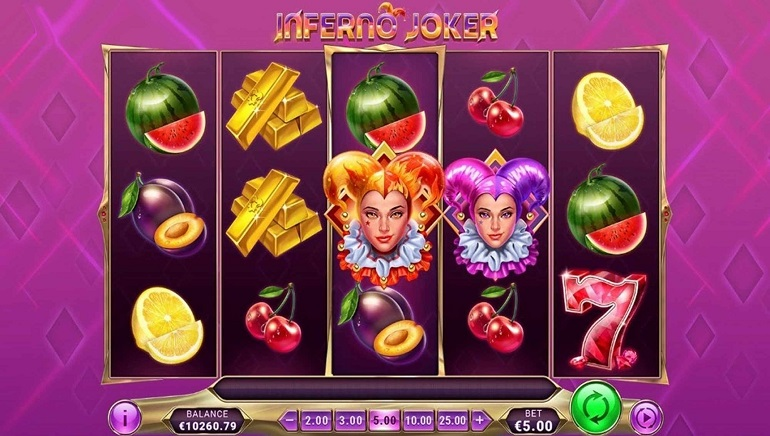 Slot Review: Inferno Joker by Play'n GO