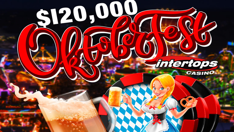 Intertops Offering $120,000 in Cash and Prizes for Oktoberfest Competition