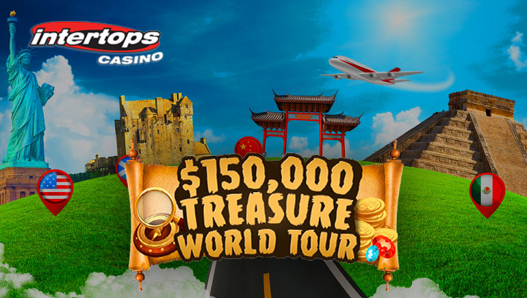 Intertops Offers Amazing $150,000 in Prizes During World Tour Promotion