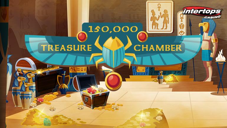 Intertops Casino Launches $150k Treasure Chamber Contest